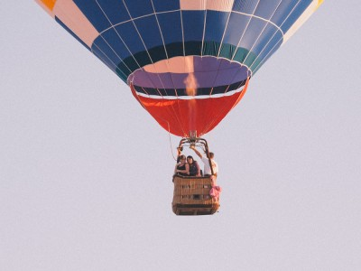 Carrie + Allison: Hot Air Balloon Elopement: Des Moines, Iowa: 2010