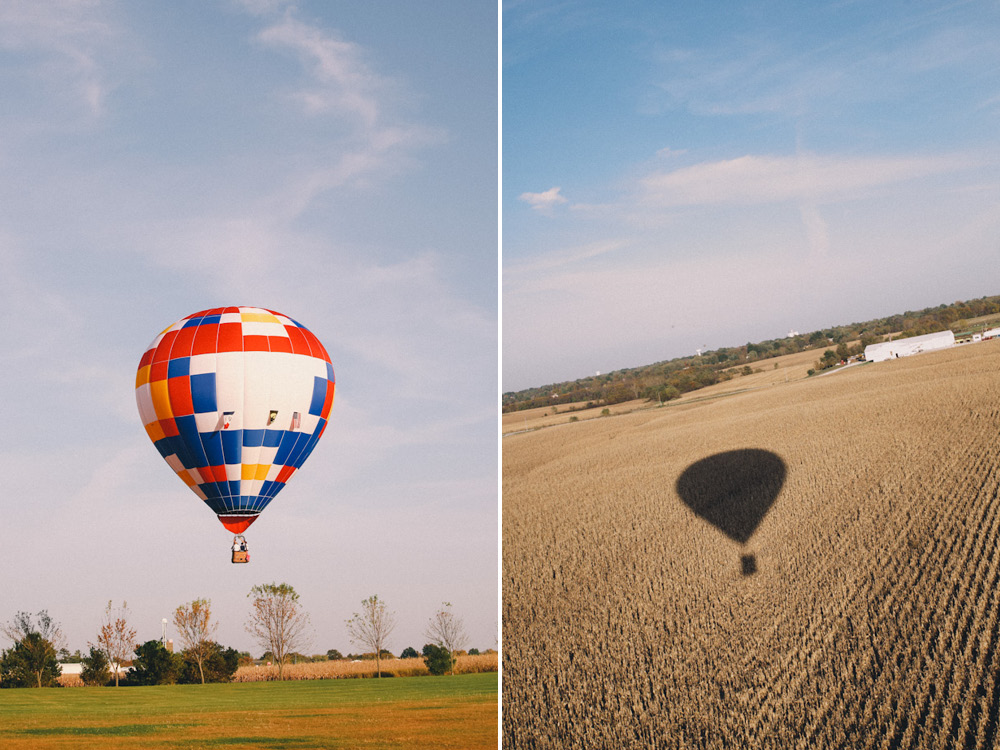 j wiley photography hot air balloon elopement wedding photographer iowa destination wedding