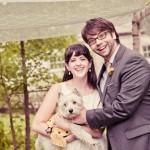 Joanne + Drew: A Meaningful Backyard Ceremony