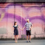 Ariella + Tom: Urban Engagement Photography