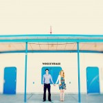 Katie + Ben: Beach + Downtown Engagement Photography