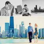 Katie + Ben: Beach + Downtown Engagement Session
