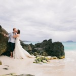 Caitlin + Charlie: St. John, Virgin Islands: Tropical DIY Destination Wedding