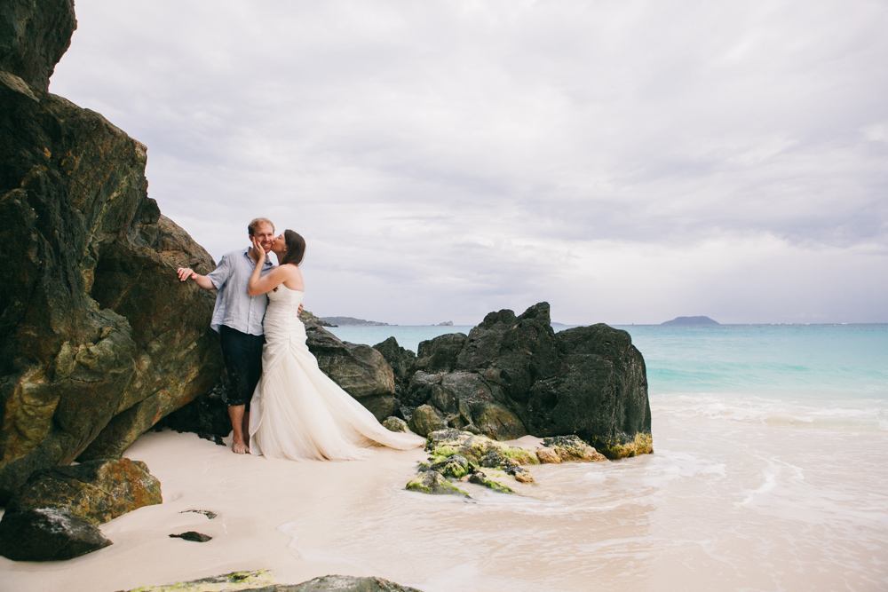 st john wedding photography carribean wedding photographer beach trash the dress