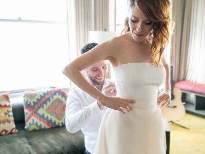 Emily + Spencer, Part I: Ace Hotel and HNYPT: Downtown Los Angeles Wedding Photographer