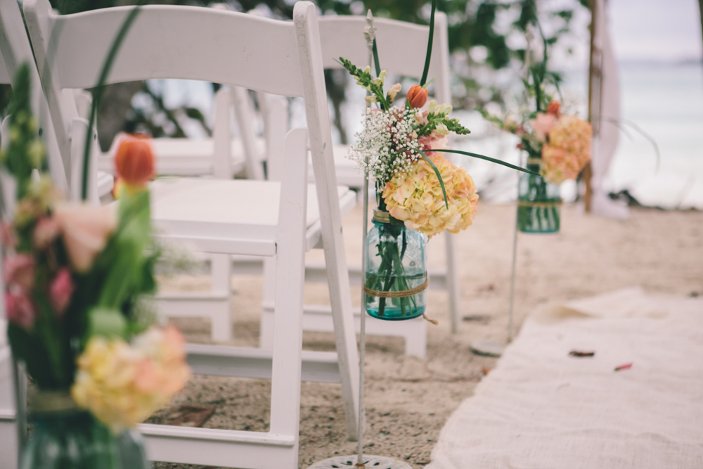 J Wiley Los Angeles Destination Wedding Photographer St John Virgin Islands wedding photography tropical sunset Oppenheimer beach travel fun DIY offbeat coral mismatched dresses first look handmade-6215