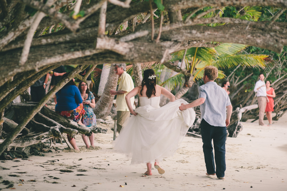 J Wiley Los Angeles Destination Wedding Photographer St John Virgin Islands wedding photography tropical sunset Oppenheimer beach travel fun DIY offbeat coral mismatched dresses first look handmade-6561