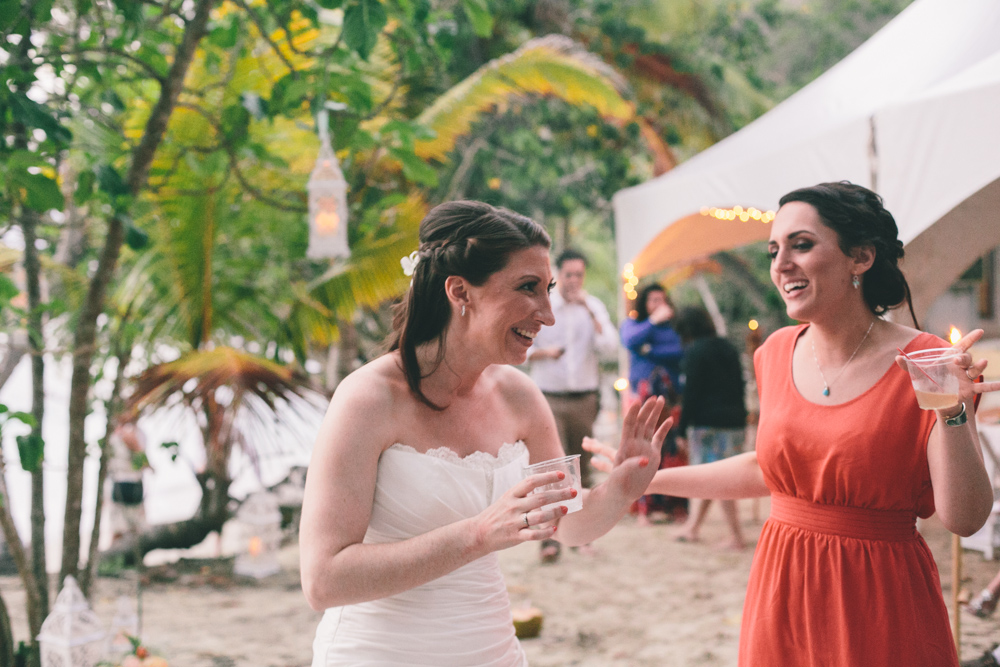 J Wiley Los Angeles Destination Wedding Photographer St John Virgin Islands wedding photography tropical sunset Oppenheimer beach travel fun DIY offbeat coral mismatched dresses first look handmade-6621