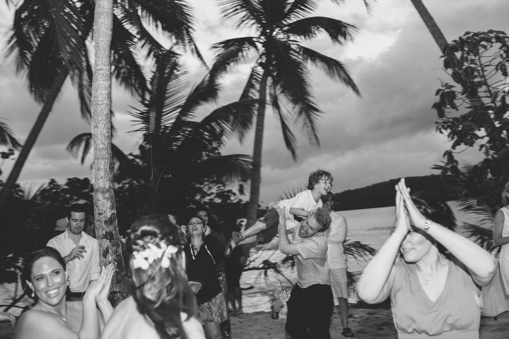 J Wiley Los Angeles Destination Wedding Photographer St John Virgin Islands wedding photography tropical sunset Oppenheimer beach travel fun DIY offbeat coral mismatched dresses first look handmade-6665