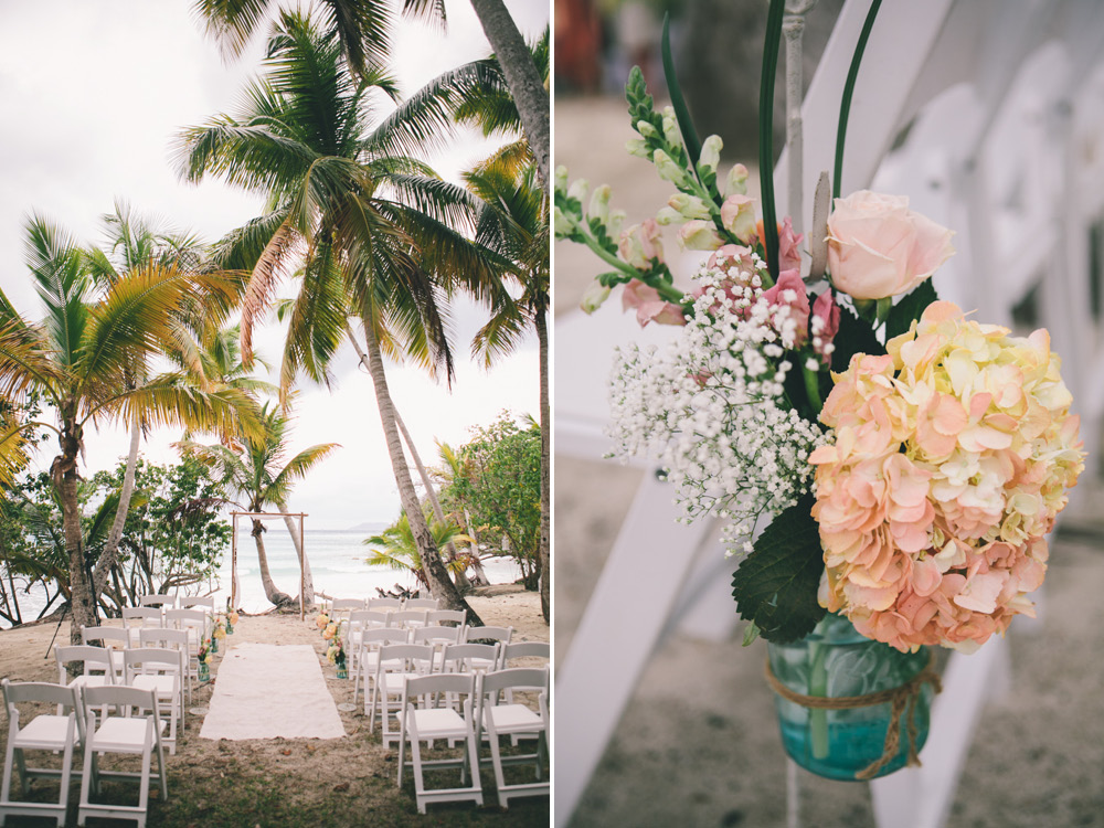 J Wiley Photography Los Angeles Destination Wedding Photographer St John Virgin Islands wedding photography tropical sunset Oppenheimer beach travel fun DIY offbeat coral mismatched dresses photojournalism first look handmade4
