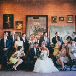 Ashley + Nick: A DIY Library-Themed Carondelet House Wedding: Los Angeles Wedding Photography