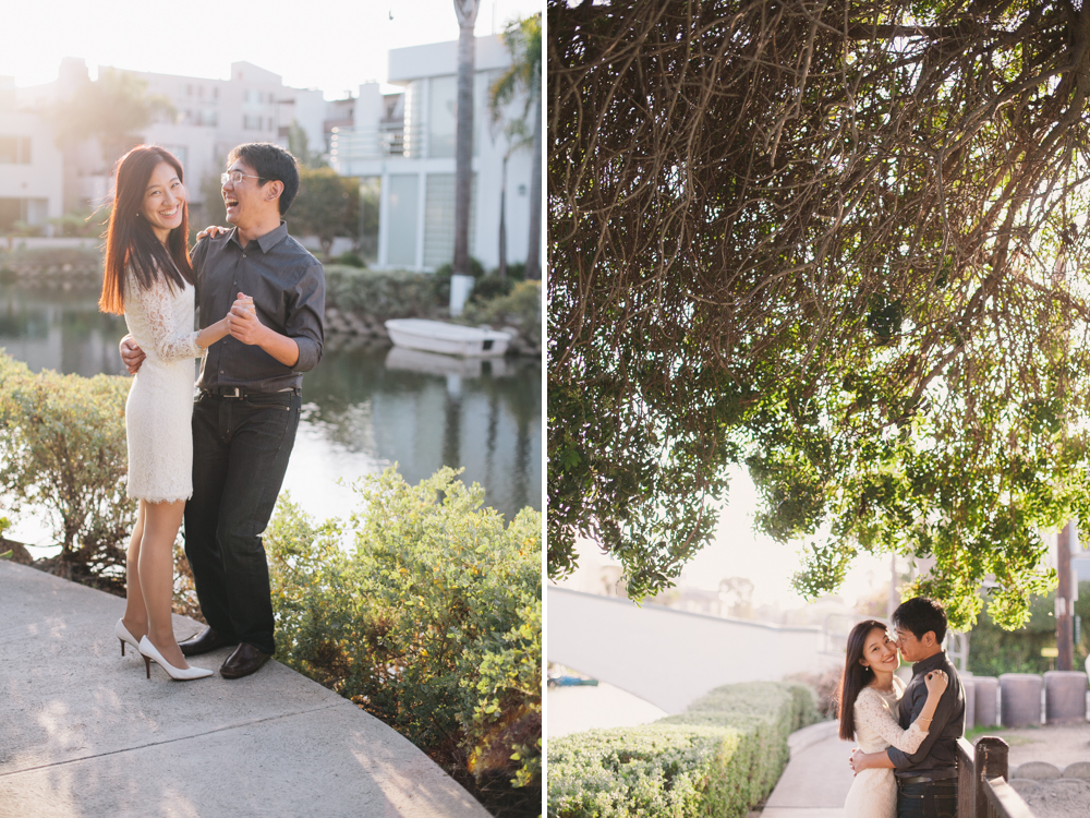 Venice Canals Engagement Photographer Santa Monica Wedding Photographer Offbeat Casual Fun Indie Candid Contemporary 3