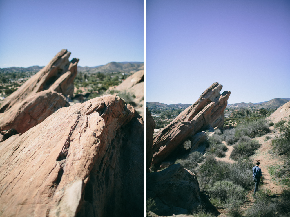 vasquez rocks desert wedding photographer