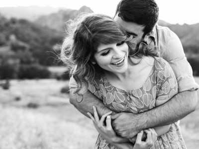 Mary + Mike: Malibu Mountains: Los Angeles Wedding Photographer
