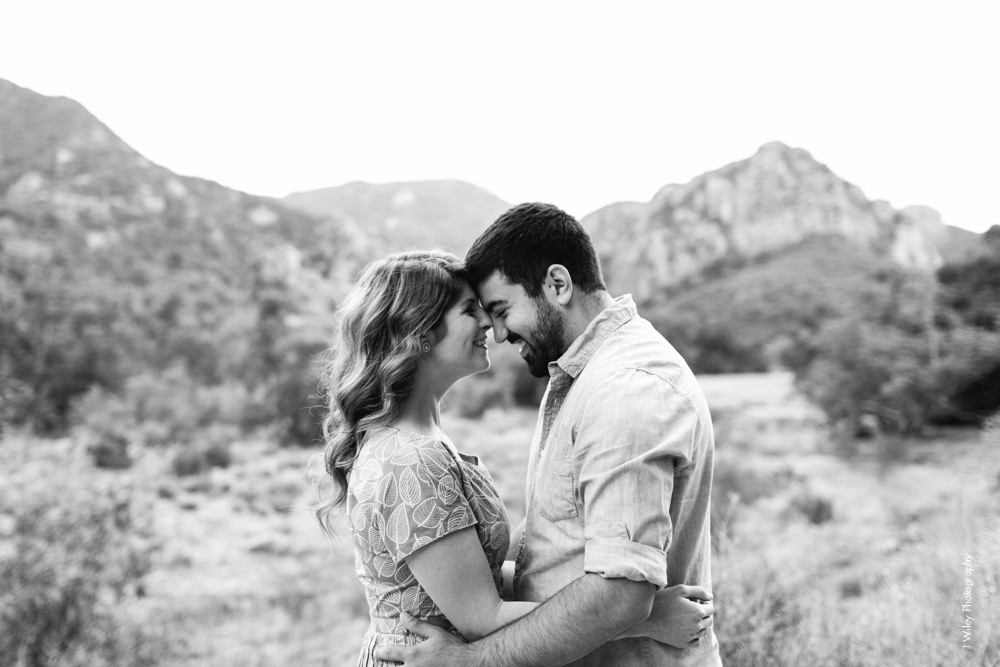 malibu engagement photography los angeles wedding photographer candid indie field mountains wildflowers-1191