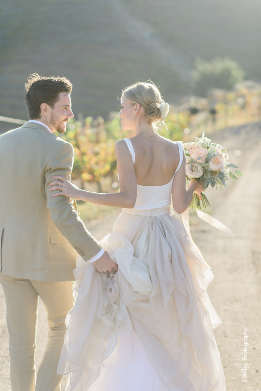 j wiley rustic whimiscal saddlerock ranch vineyard wedding malibu neutral gold mountains-1288