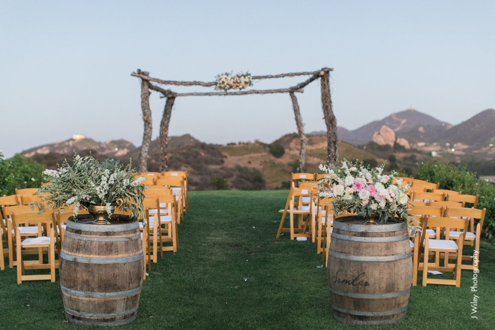 j wiley rustic whimiscal saddlerock ranch vineyard wedding malibu neutral gold mountains-1350