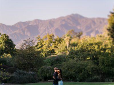 Karren + David: Arboretum + Botanical Gardens: Los Angeles Engagement Photographer