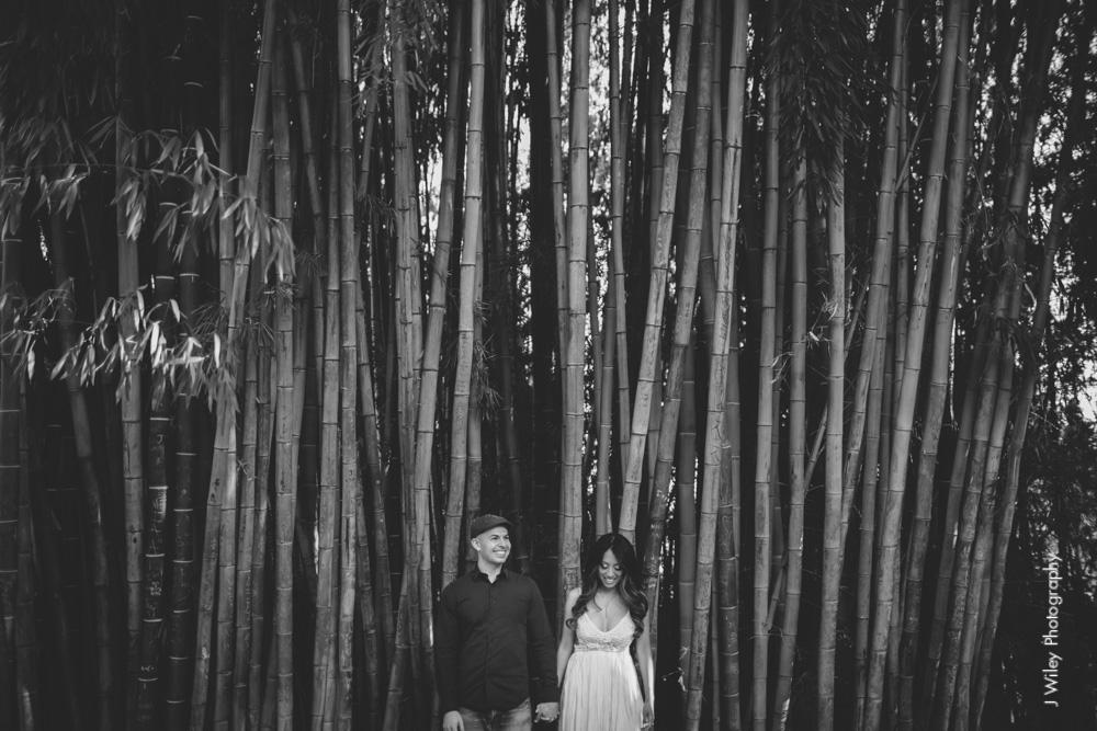 engagement photography wedding photographer los angeles arboretum botical gardens nature casual elegant-1083