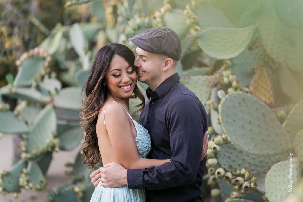 engagement photography wedding photographer los angeles arboretum botical gardens nature casual elegant-1094