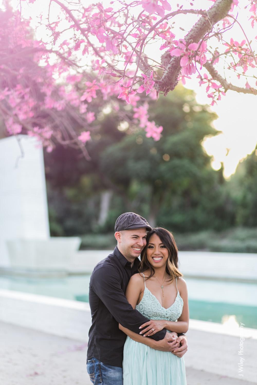 engagement photography wedding photographer los angeles arboretum botical gardens nature casual elegant-1114
