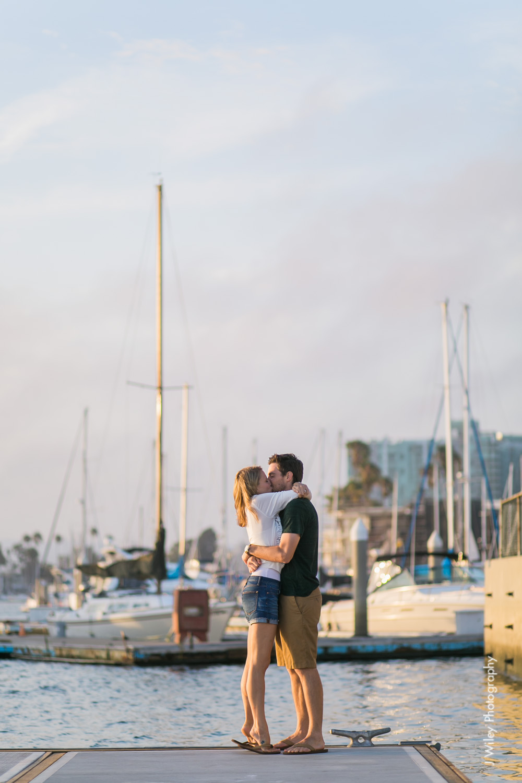 los angeles wedding photographer engagement photography santa monica marina venice beach boat nautircal causal fun dogs-1136