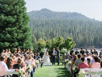 Emily + Corey: The Pines Resort at Bass Lake Wedding Photography: Yosemite, CA