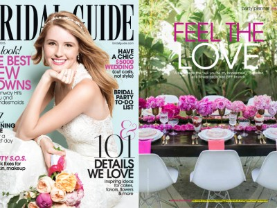 Bridesmaids Brunch: Bridal Guide Magazine Feature