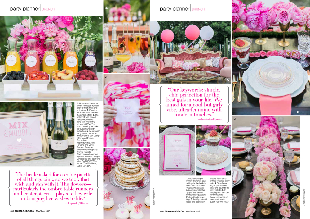 los angeles candid wedding photographer the washbow bridal guide magazine 2