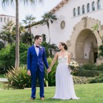 Chris + Karen: Stylish Santa Barbara Courthouse and Historical Museum Wedding Photographer