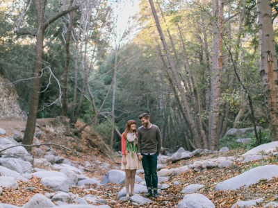 Spencer + Emily: Angeles National Forest: Los Angeles Engagement Photographer