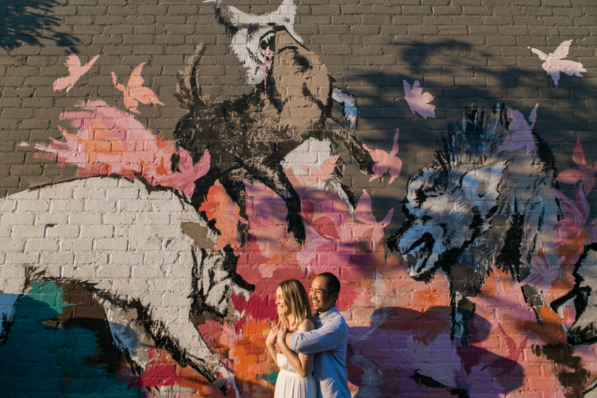 Downtown Los Angeles Wedding Photographer Arts District Industrial Hipster Murals-7539