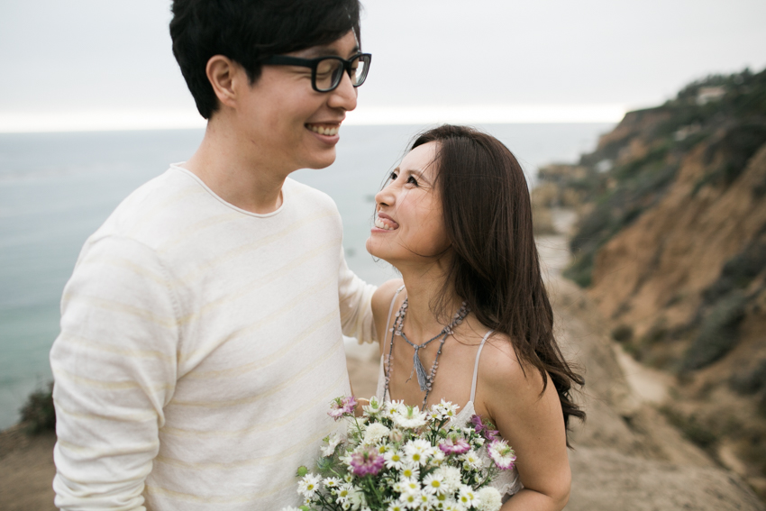 El Matador Beach Wedding Photographer Engagement Los Angeles Boho Bohemian Hipster-1001