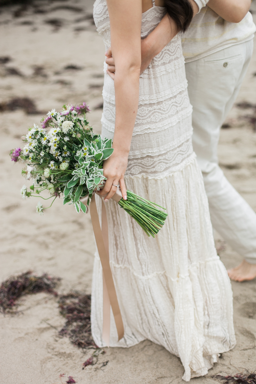 El Matador Beach Wedding Photographer Engagement Los Angeles Boho Bohemian Hipster-1002
