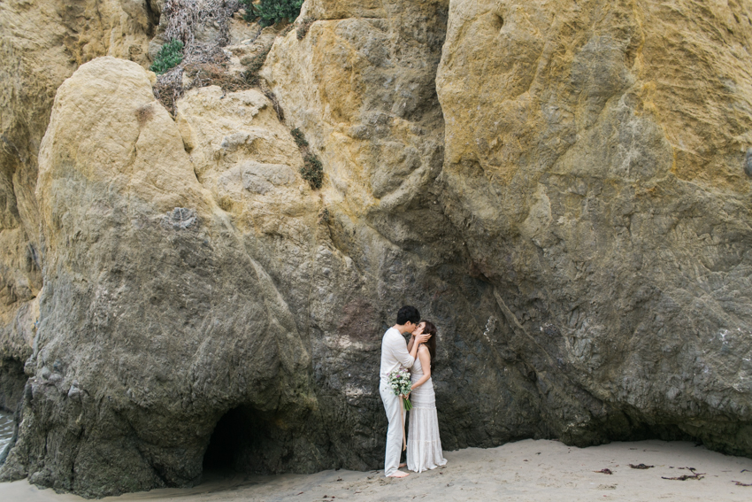 El Matador Beach Wedding Photographer Engagement Los Angeles Boho Bohemian Hipster-1004