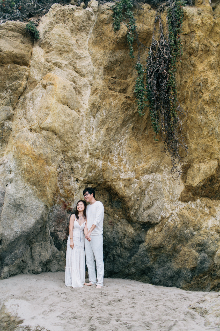 El Matador Beach Wedding Photographer Engagement Los Angeles Boho Bohemian Hipster-1009