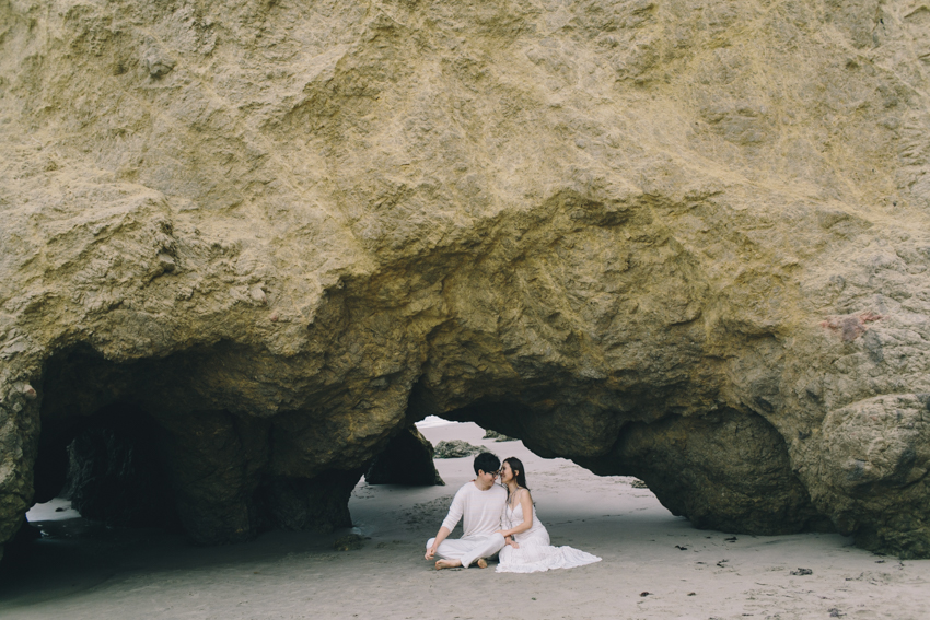 El Matador Beach Wedding Photographer Engagement Los Angeles Boho Bohemian Hipster-1010