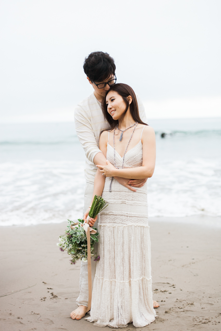 El Matador Beach Wedding Photographer Engagement Los Angeles Boho Bohemian Hipster-1026