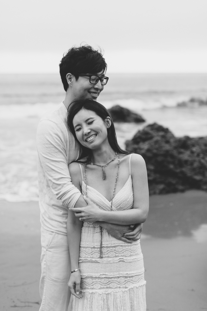 El Matador Beach Wedding Photographer Engagement Los Angeles Boho Bohemian Hipster-1027