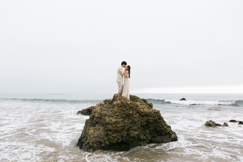 El Matador Beach Wedding Photographer Engagement Los Angeles Boho Bohemian Hipster-1030