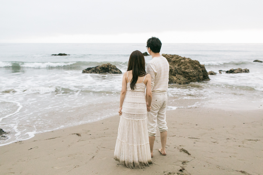 El Matador Beach Wedding Photographer Engagement Los Angeles Boho Bohemian Hipster-1038