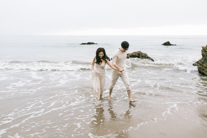 El Matador Beach Wedding Photographer Engagement Los Angeles Boho Bohemian Hipster-1039
