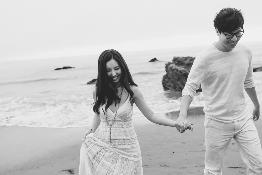 El Matador Beach Wedding Photographer Engagement Los Angeles Boho Bohemian Hipster-1040