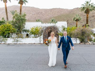 ASHLEY + MATT: KORAKIA PENSIONE PALM SPRINGS DESERT WEDDING