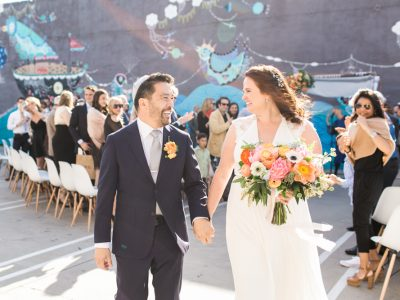 Julie + Brian: The Unique Space Downtown Warehouse Wedding in Los Angeles