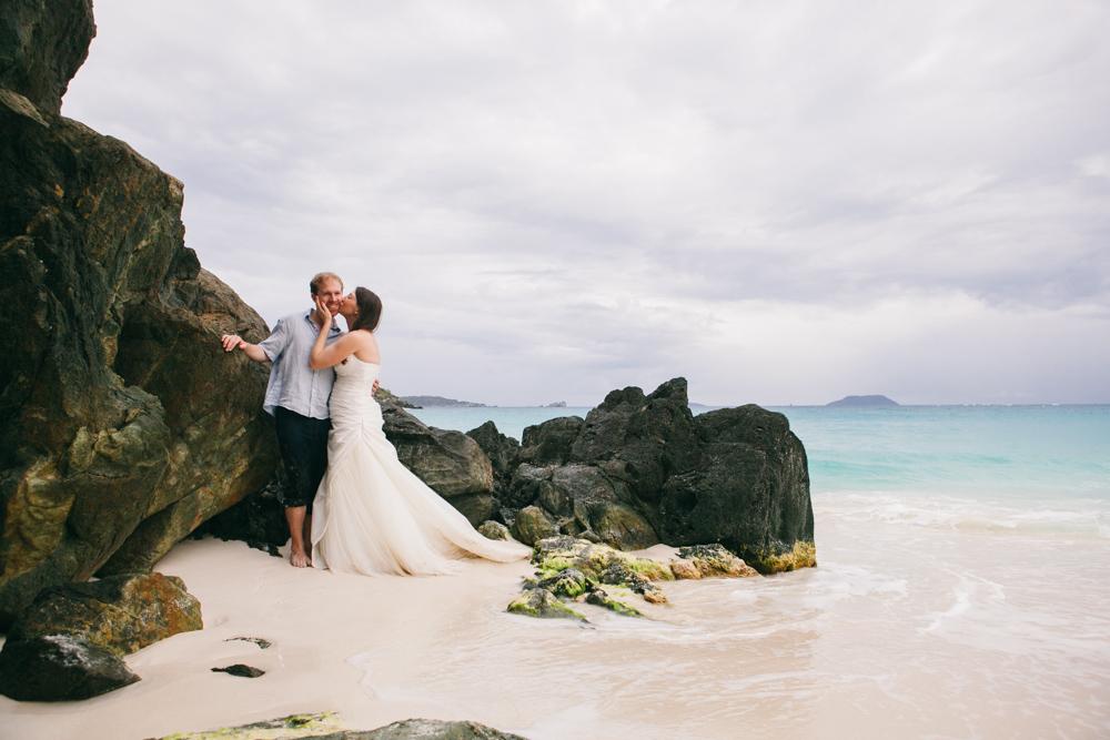 st john wedding photography carribean wedding photographer beach trash the dress
