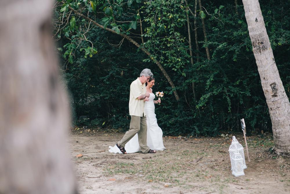 J Wiley Los Angeles Destination Wedding Photographer St John Virgin Islands wedding photography tropical sunset Oppenheimer beach travel fun DIY offbeat coral mismatched dresses first look handmade-6325