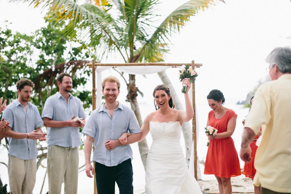 J Wiley Los Angeles Destination Wedding Photographer St John Virgin Islands wedding photography tropical sunset Oppenheimer beach travel fun DIY offbeat coral mismatched dresses first look handmade-6409