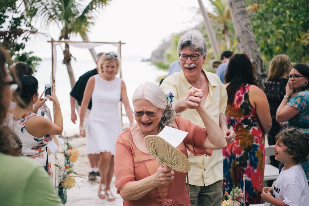 J Wiley Los Angeles Destination Wedding Photographer St John Virgin Islands wedding photography tropical sunset Oppenheimer beach travel fun DIY offbeat coral mismatched dresses first look handmade-6416