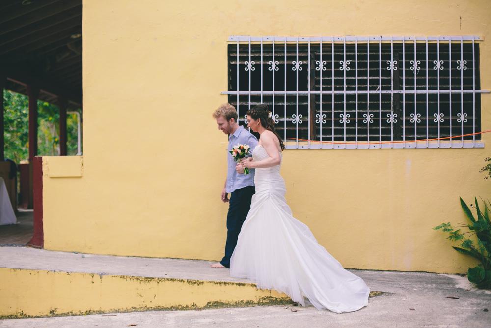 J Wiley Los Angeles Destination Wedding Photographer St John Virgin Islands wedding photography tropical sunset Oppenheimer beach travel fun DIY offbeat coral mismatched dresses first look handmade-6418